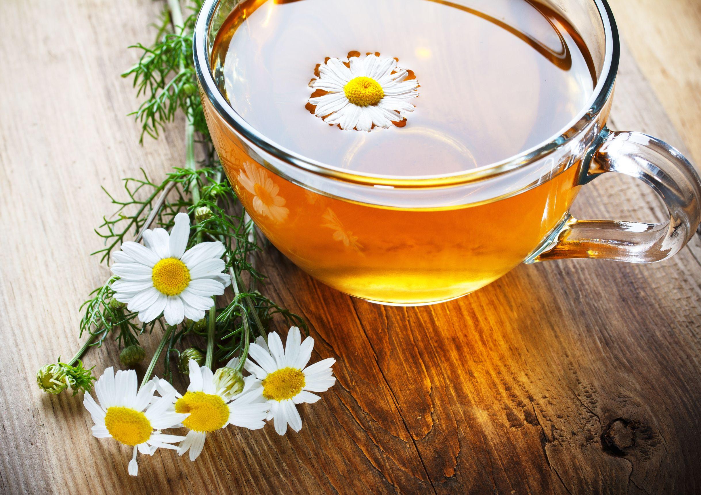 Thanks to Chamomile Tea?