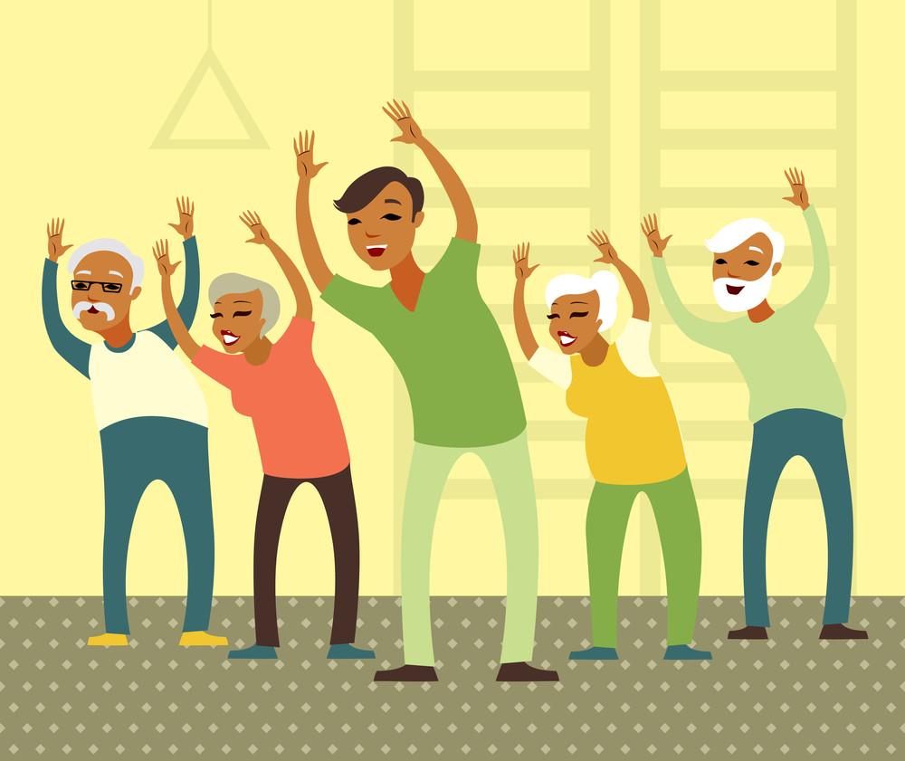 קשישים וכושר - סיפור הצלחה