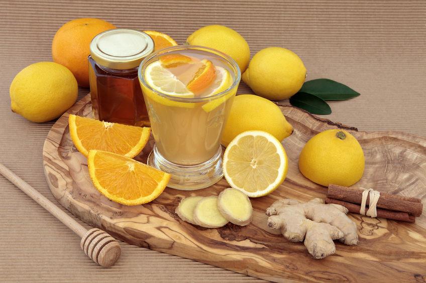 Имбирно—лимонный чай. Их полезные свойства