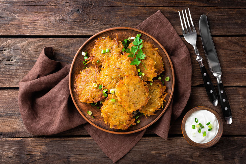 Hanukkah: A Simple Way To Cook Latkes